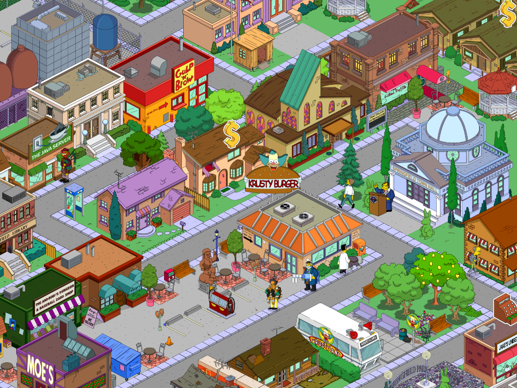 Krusty Burger The Simpsons Tapped Out Wiki