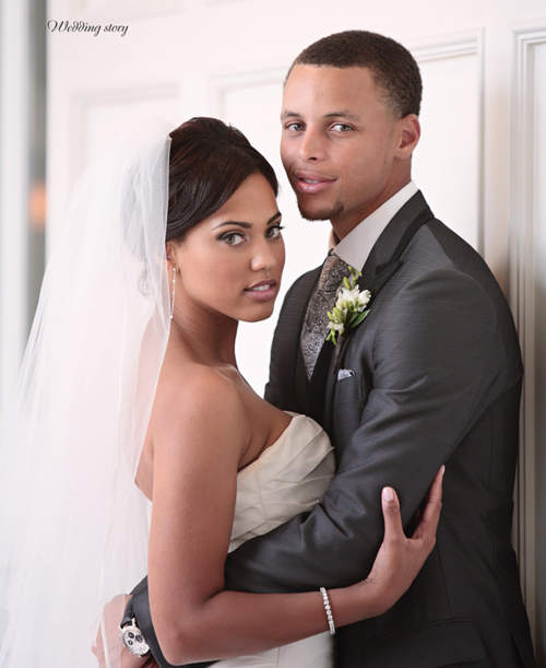 Stephen Curry with beautiful, Wife Ayesha Alexander