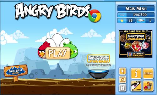 игра angry birds chrome