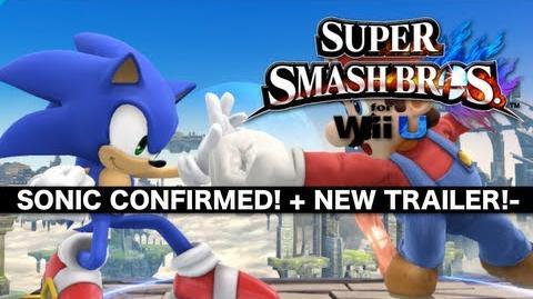 -SSB4- SONIC CONFIRMED! new trailer!!