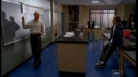 Jonathan Ragsdale as Barry in Breaking Bad