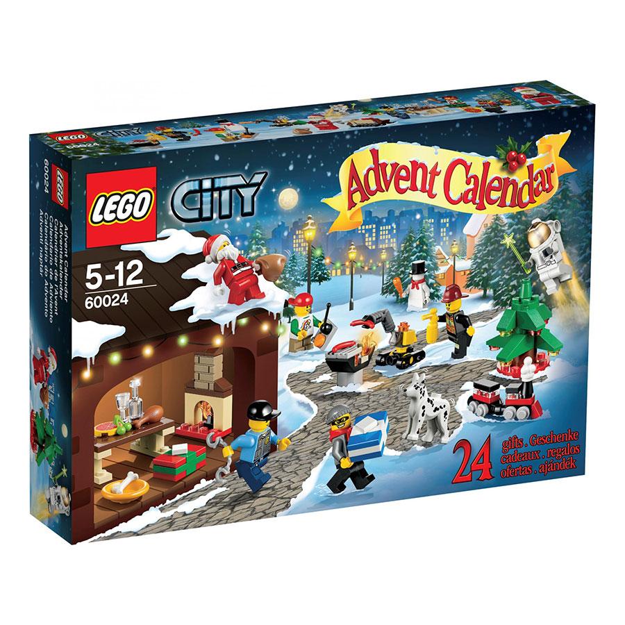 60024 city advent calendar brickipedia the lego wiki. Black Bedroom Furniture Sets. Home Design Ideas
