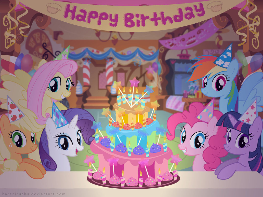 Image - FANMADE birthday.jpg - My Little Pony Friendship is Magic Wiki