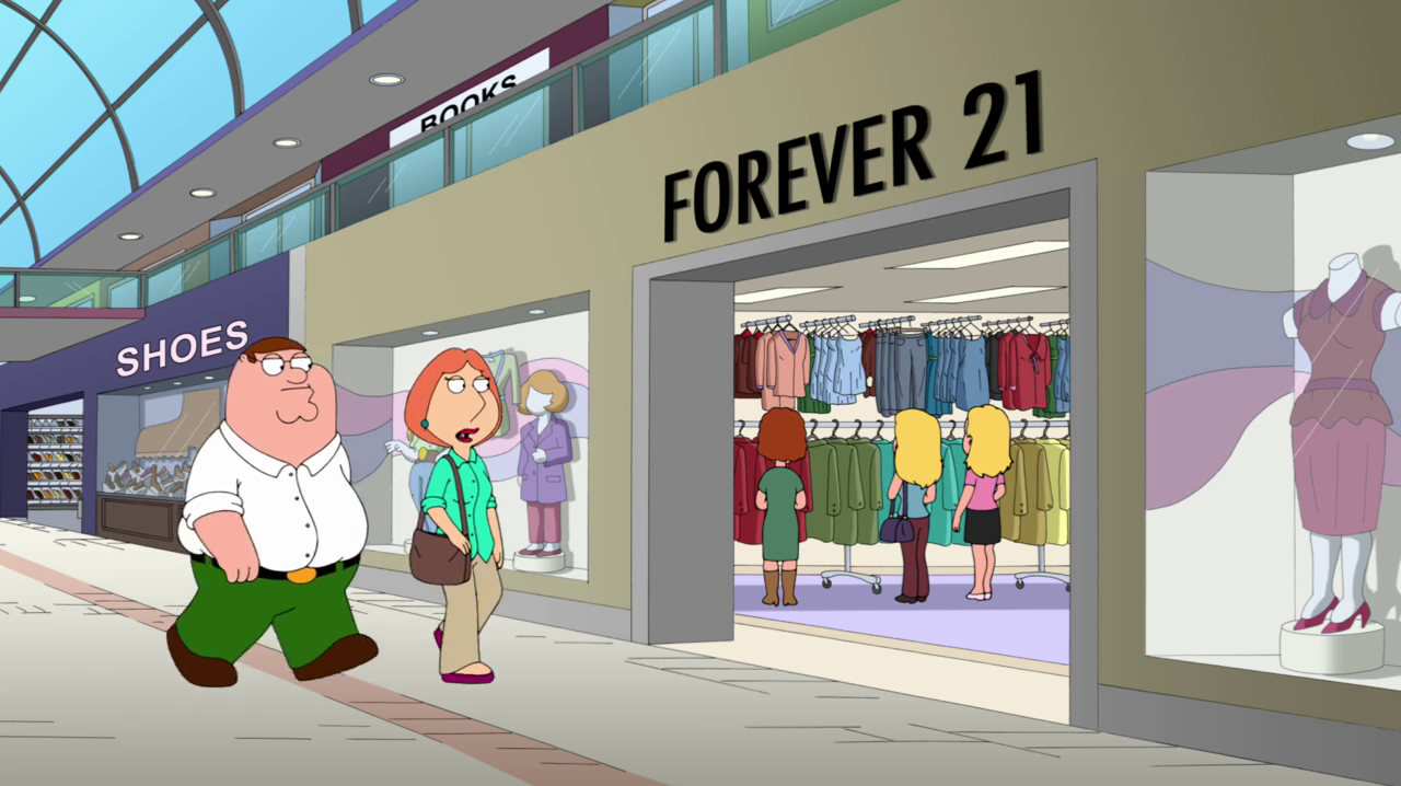 Forever 21 is an American chain of clothing retailers with branches in ...