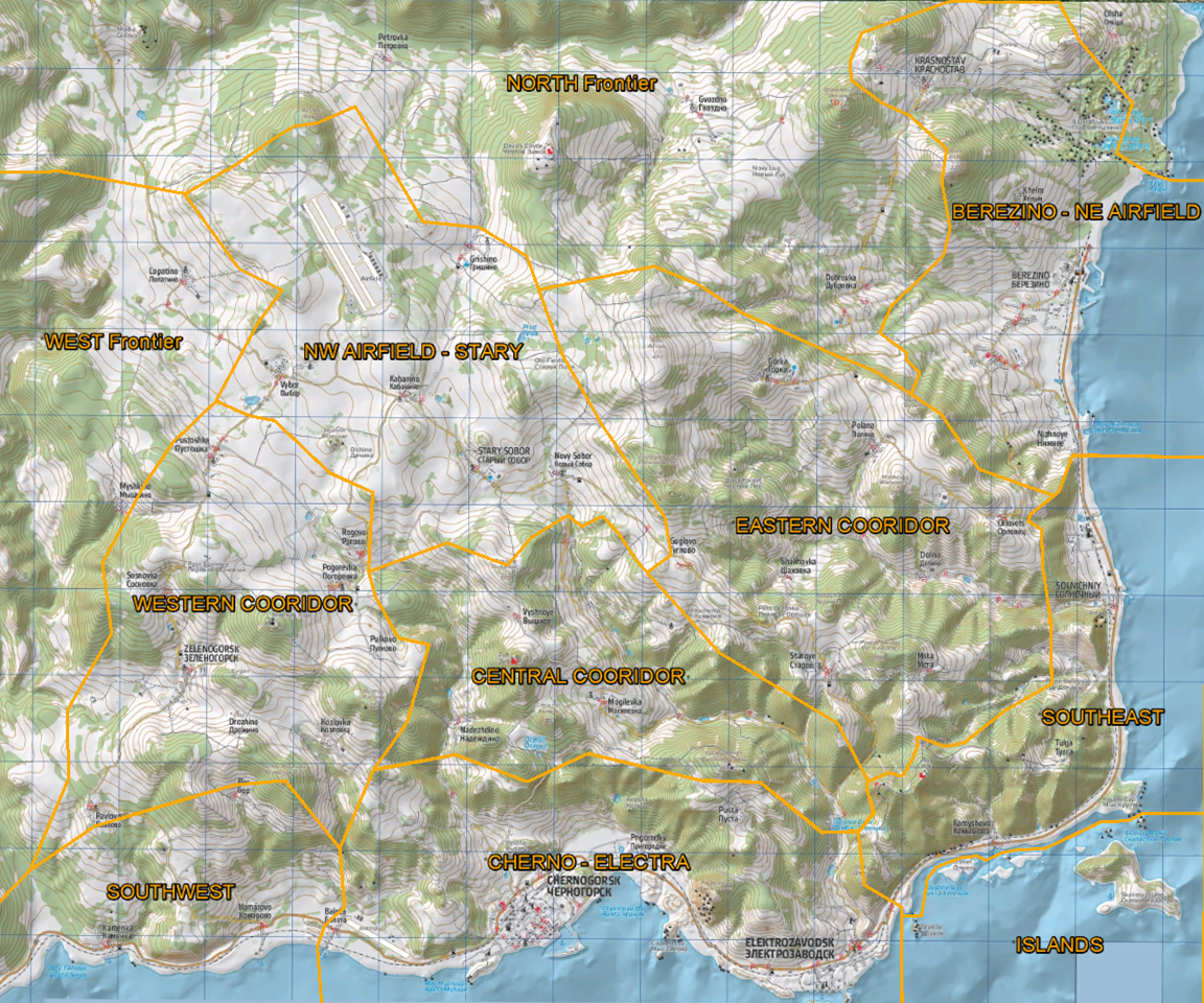 Dayz wiki cherno map Dayz Interactive Map on