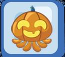 Happy Pumpkin Octopus