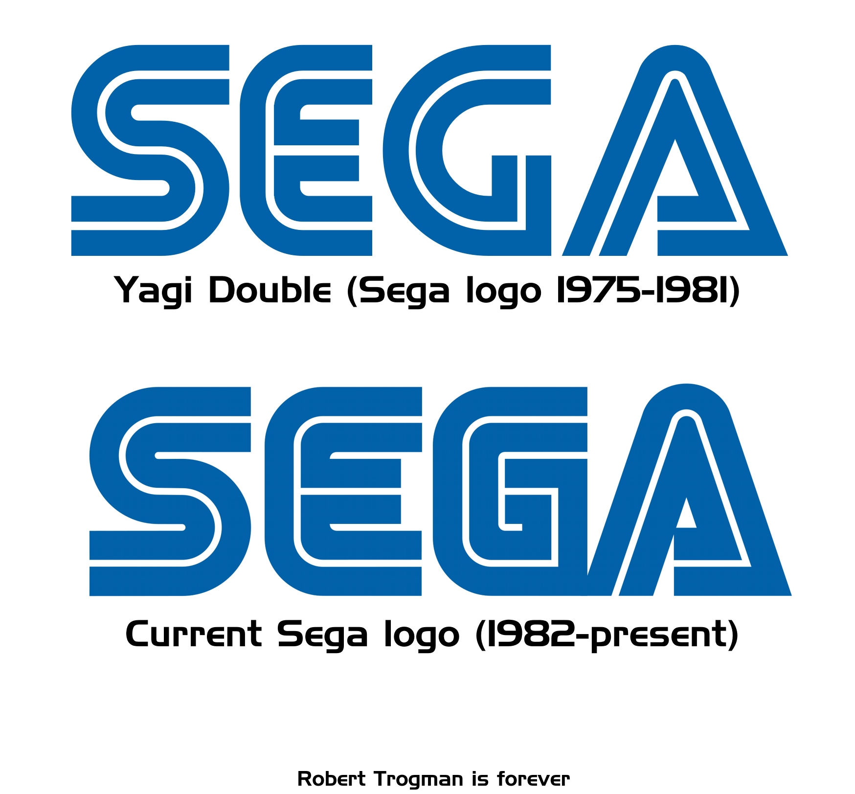 Allstate Sign In Page >> Image - Sega logo comparison.jpg - Sonic Fanon Wiki, the Sonic fanfiction wiki that anyone can edit!