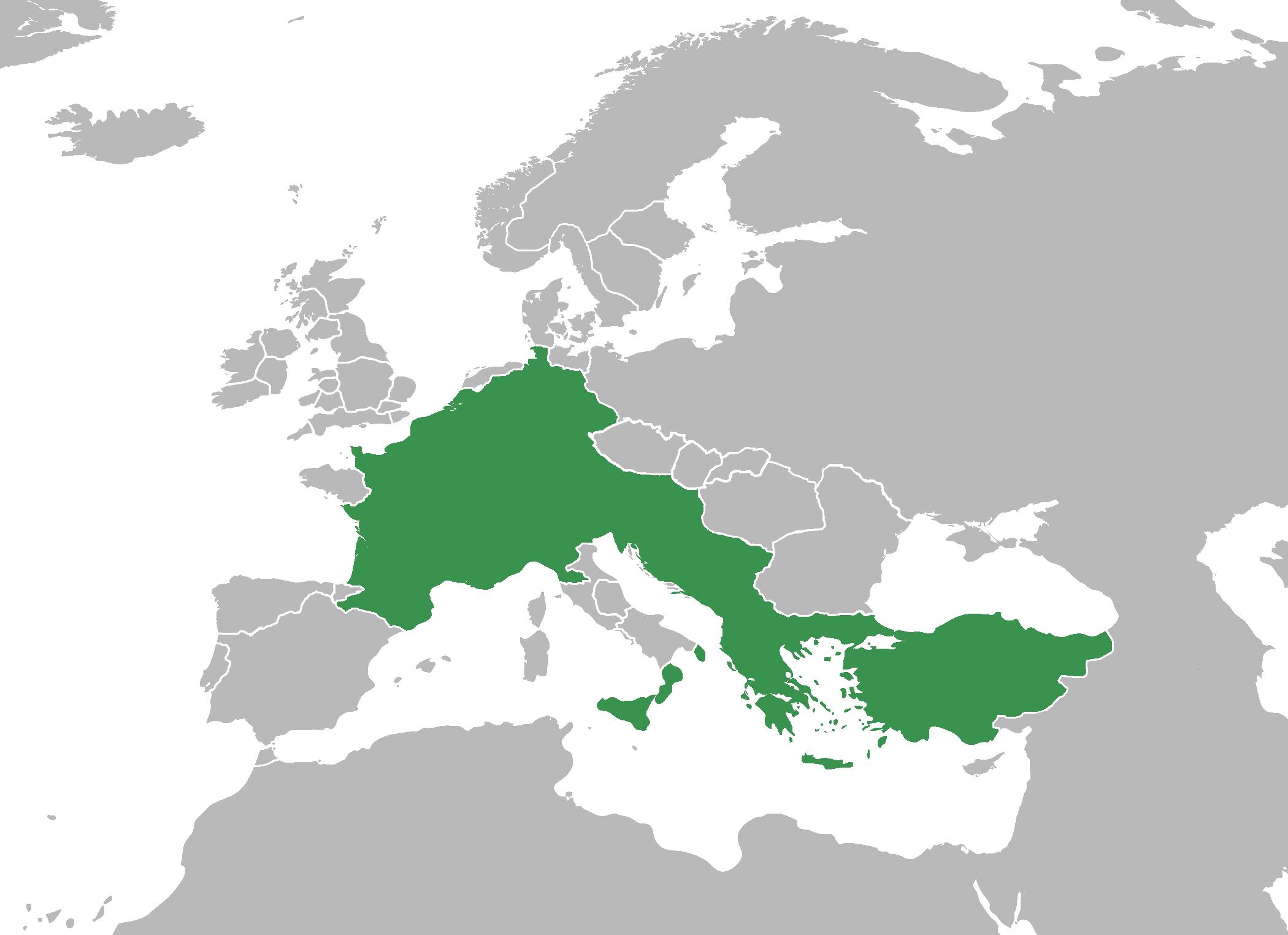 Frankish Empire Magnam Europae Alternative History