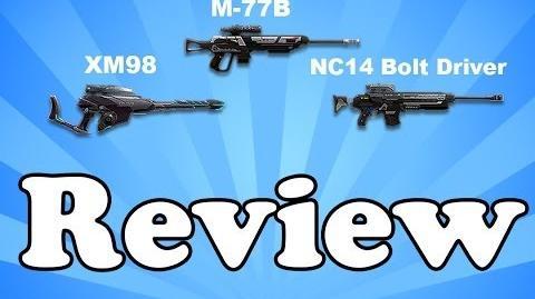 Planetside 2 - XM98 M77-B NC14 Bolt Driver - Weapon Review-2