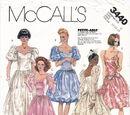 McCall's 3440 B