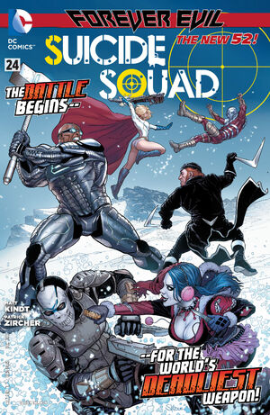 Cover for Suicide Squad #24 (2013)