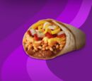 1/2-Pound Cheesy Bean & Rice Burrito