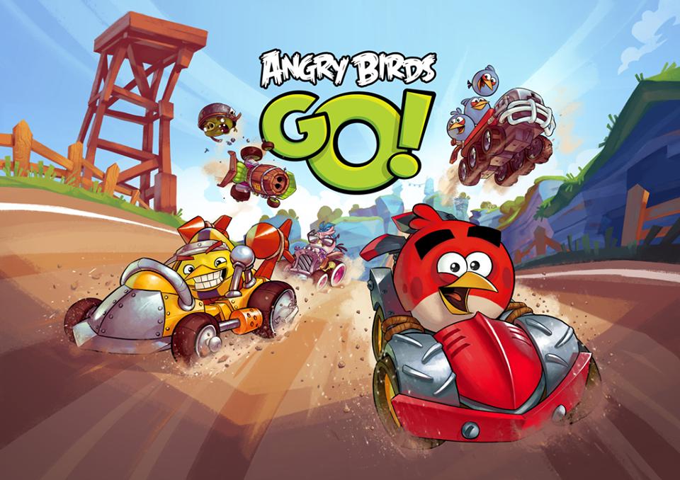 Angry Birds Go Chuck Angry birds go!