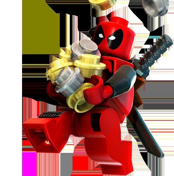 Deadpool lego marvel superheroes wiki - Logo super heros ...