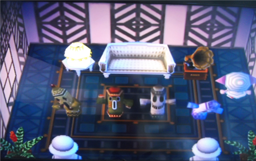 C sar animal crossing wiki for Extension maison animal crossing wild world