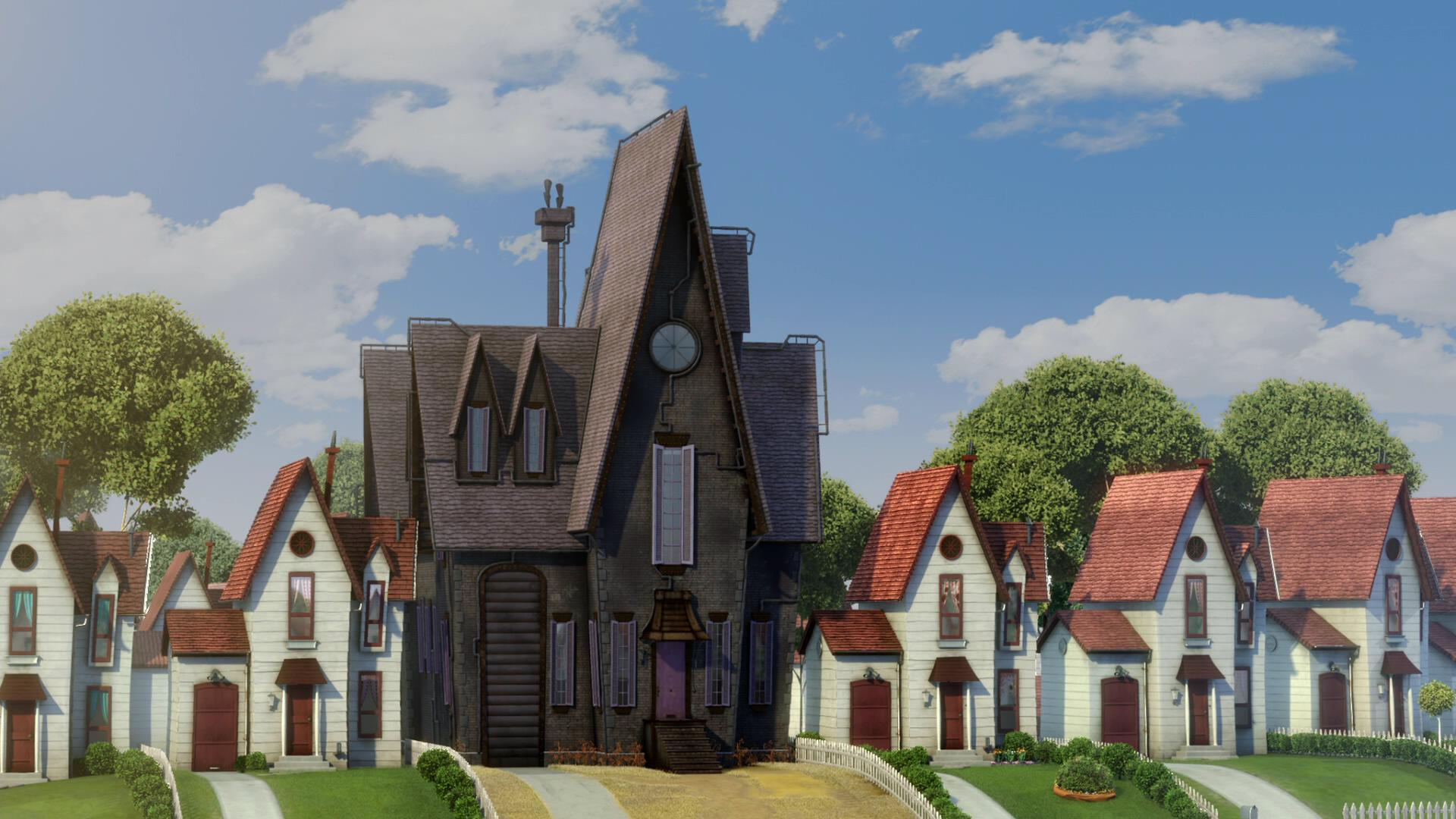 Gru 39 s house despicable me wiki for What is a shouse house