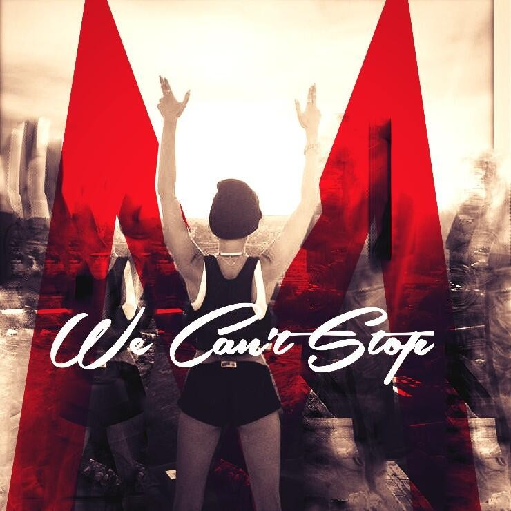 We Cant Stop Single Cover We Cant Stop Miley Cyr...