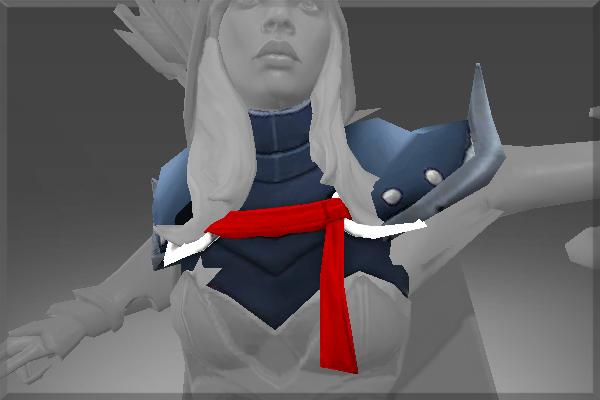 Drow Ranger S Mania S Mask Immortal: Sylvan Guard's Finery Set