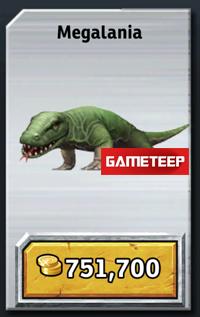 Megalania Jurassic Park Builder Megalania - Jurassic P...