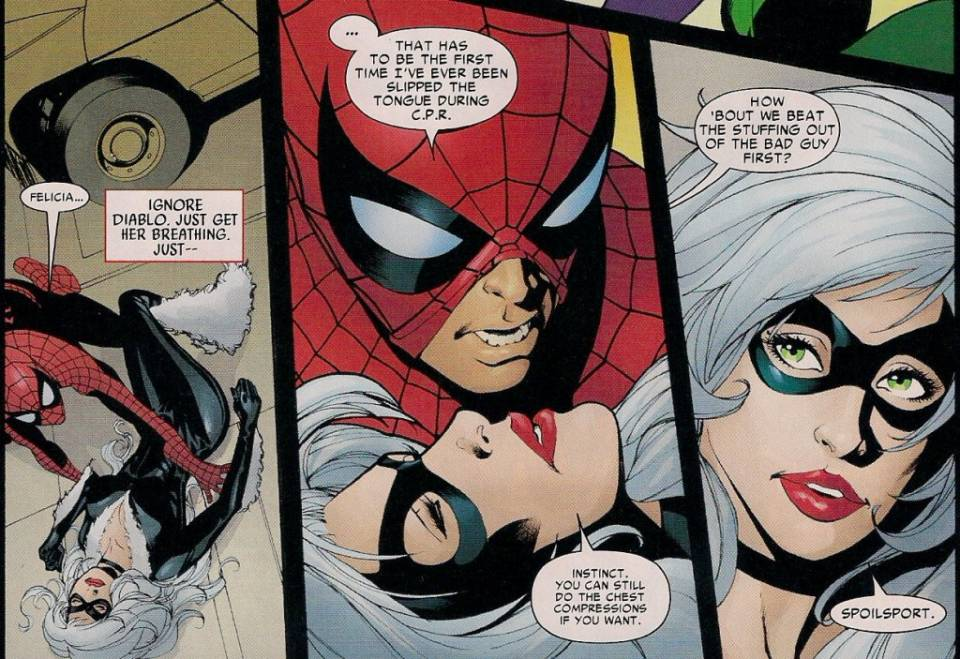 Image - 2326173-amazing spider man 607 3.jpg - Heroes Wiki The Amazing Spider Man 3 Black Cat