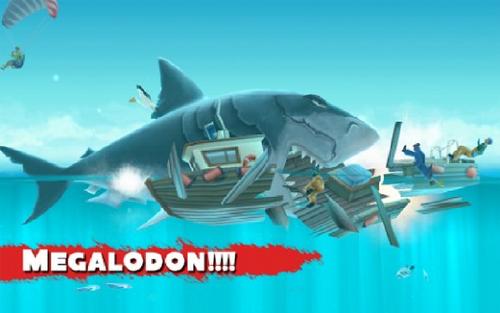 Megalodon Hungry Shark Wiki Wikia