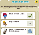 Troll for Iron