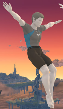 User blog:Gag Buster 70/Male Wii Fit Trainer In Smash Bros ...