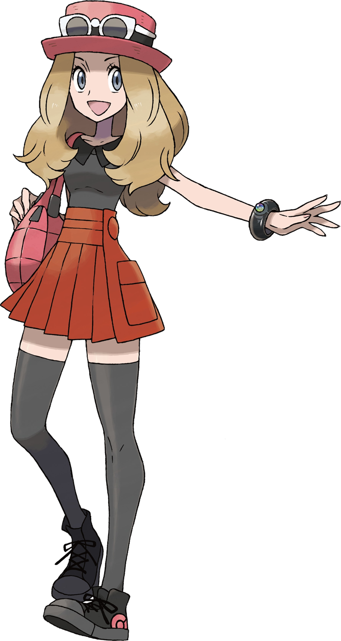 Pokemon x And y Trainer Class Pokemon Trainers by Picture