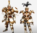 MHFG Sword and Shield Specific Armor Set Renders
