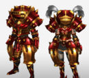 MHFG Suzaku Armor Set Renders