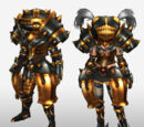 MHFG Genbu Armor Set Renders