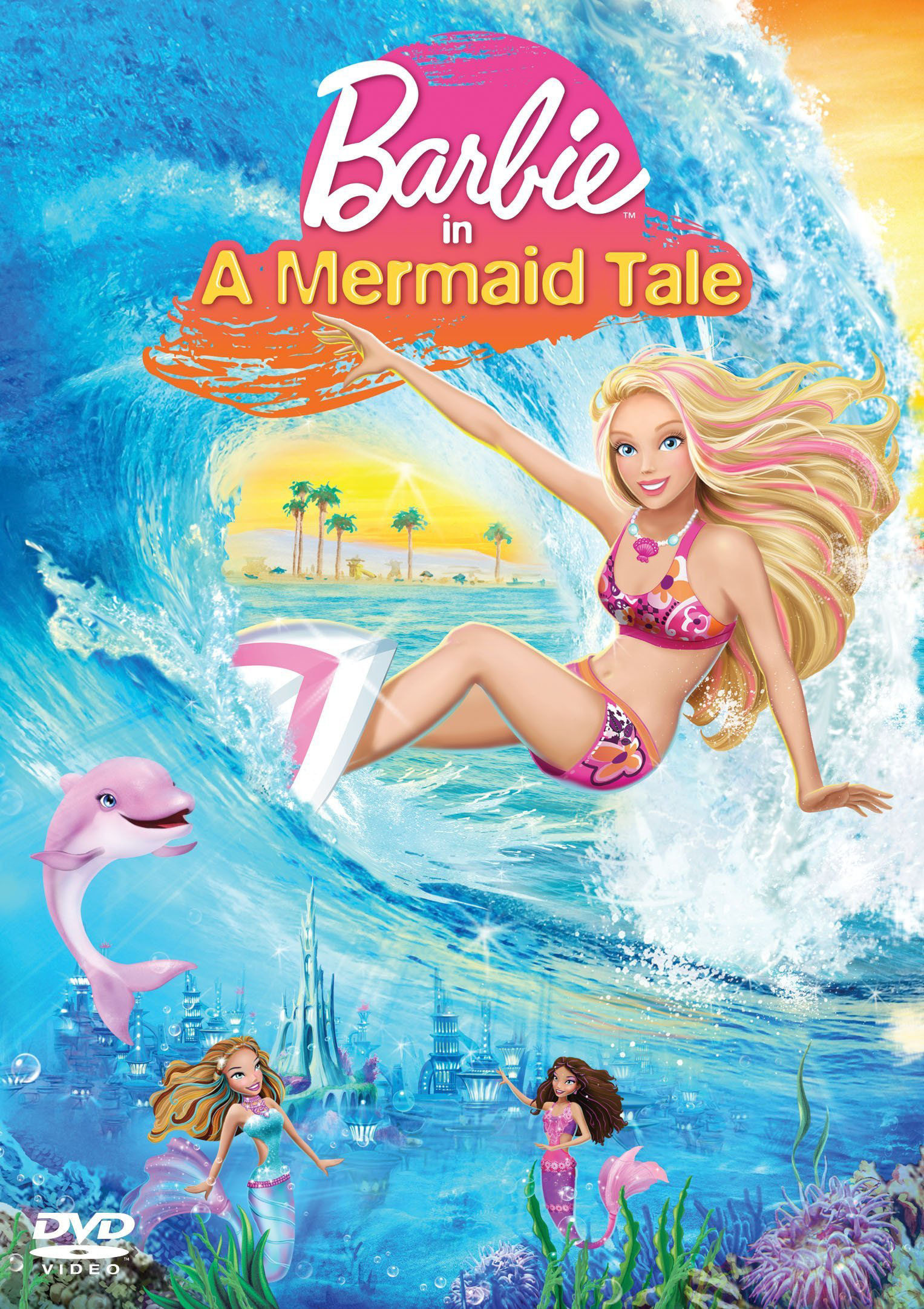 Animation unplugged barbie in a mermaid tale