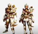 MHFG Light Bowgun Specific Armor Set Renders