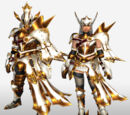 MHFG Bow Specific Armor Set Renders