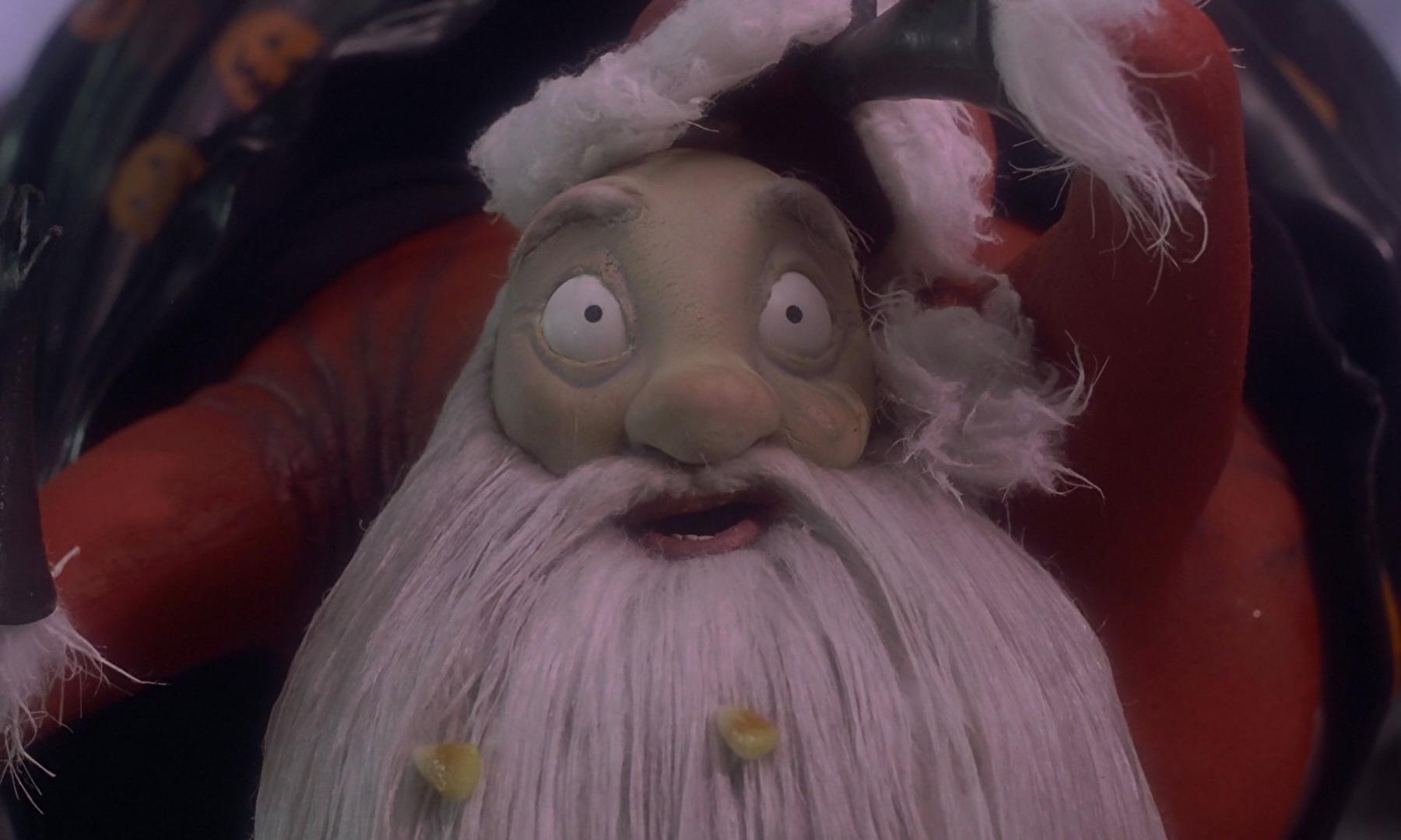 Nightmare Before Christmas Santa Gif
