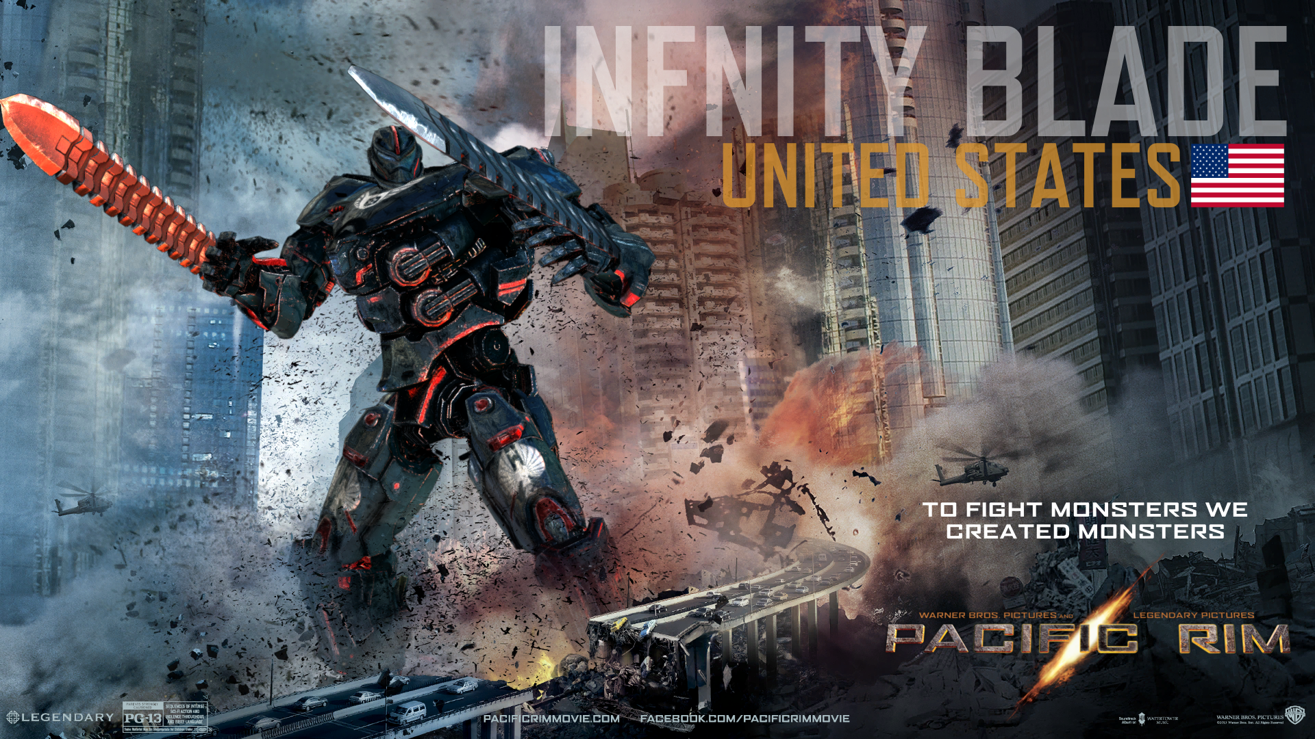 Infinity Blade - Custom Pacific Rim Wiki Pacific Rim Kaiju Category System