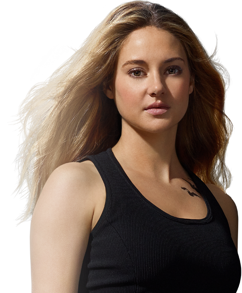 Shailene Woodley Plays Tris