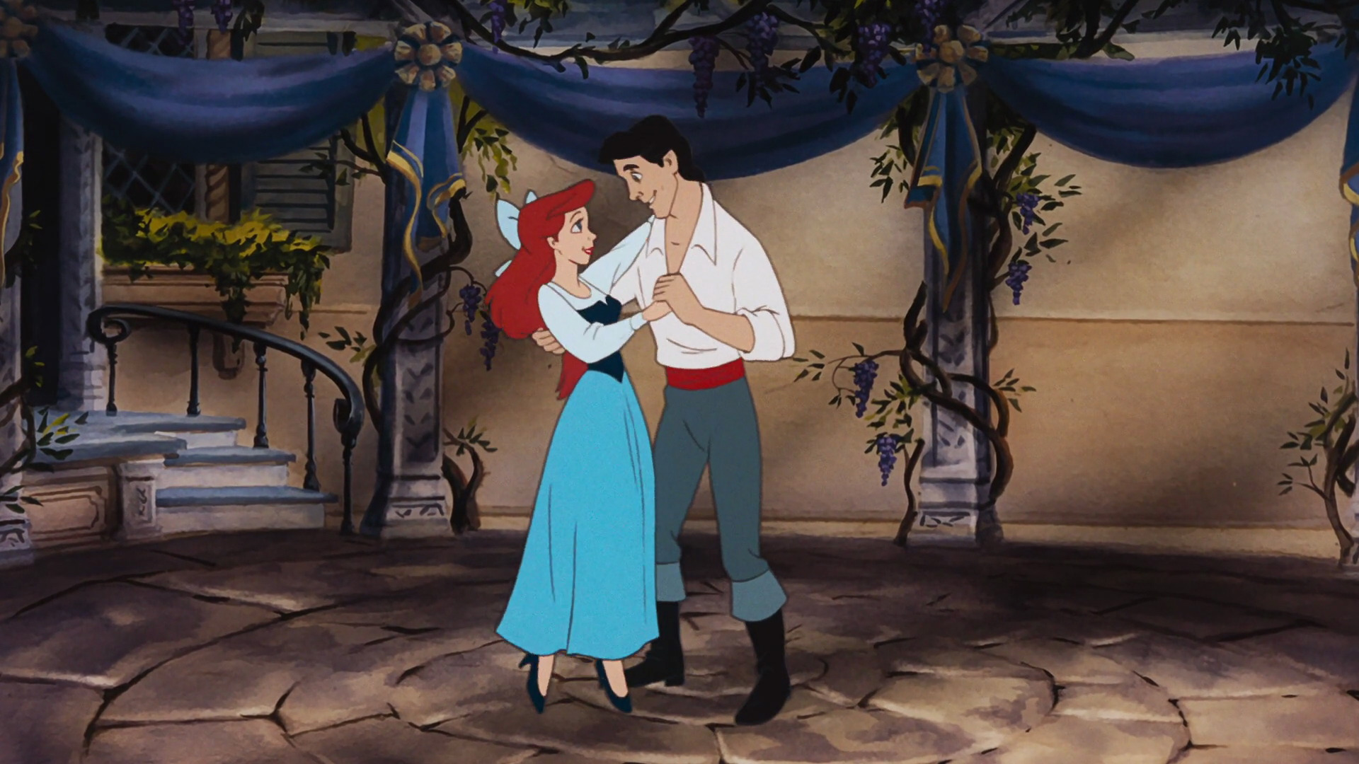 Image Gallery of Princess Ariel And Prince Eric Dancing