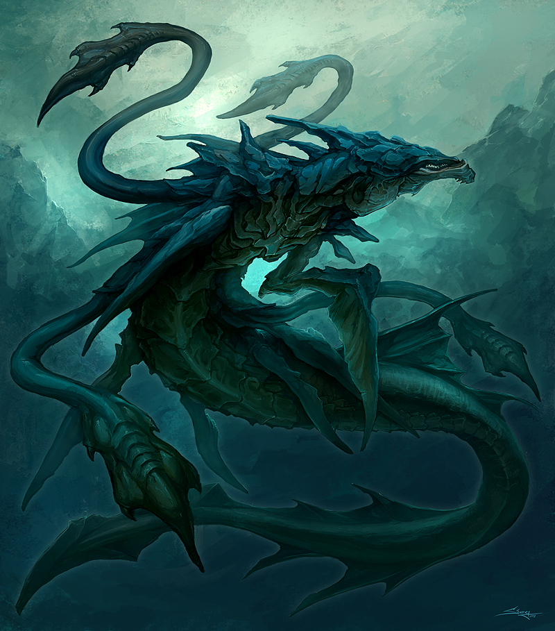 Battle against a creature (plot) Leviathan_by_beloved_creature-d39y19b