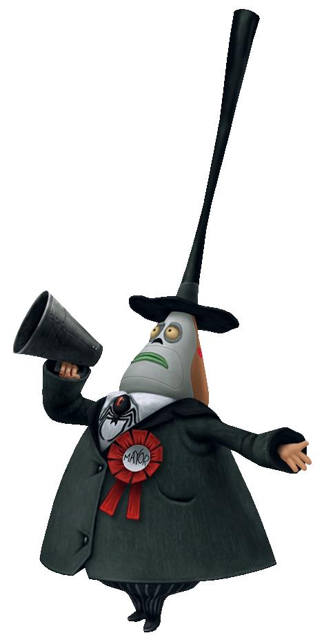 Image - The Mayor KHII.png - The Nightmare Before Christmas Wiki