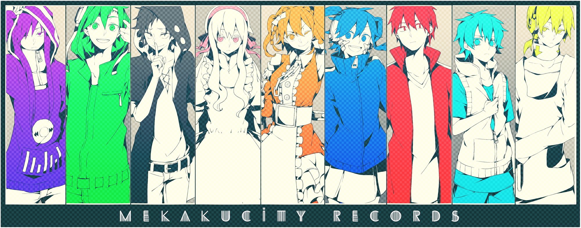 Kagerou Project - Mekaku City Actors MEKAKUCITY_RECORDS