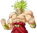 Gohan Super Saiyajin 2 vs Broly LSSJ