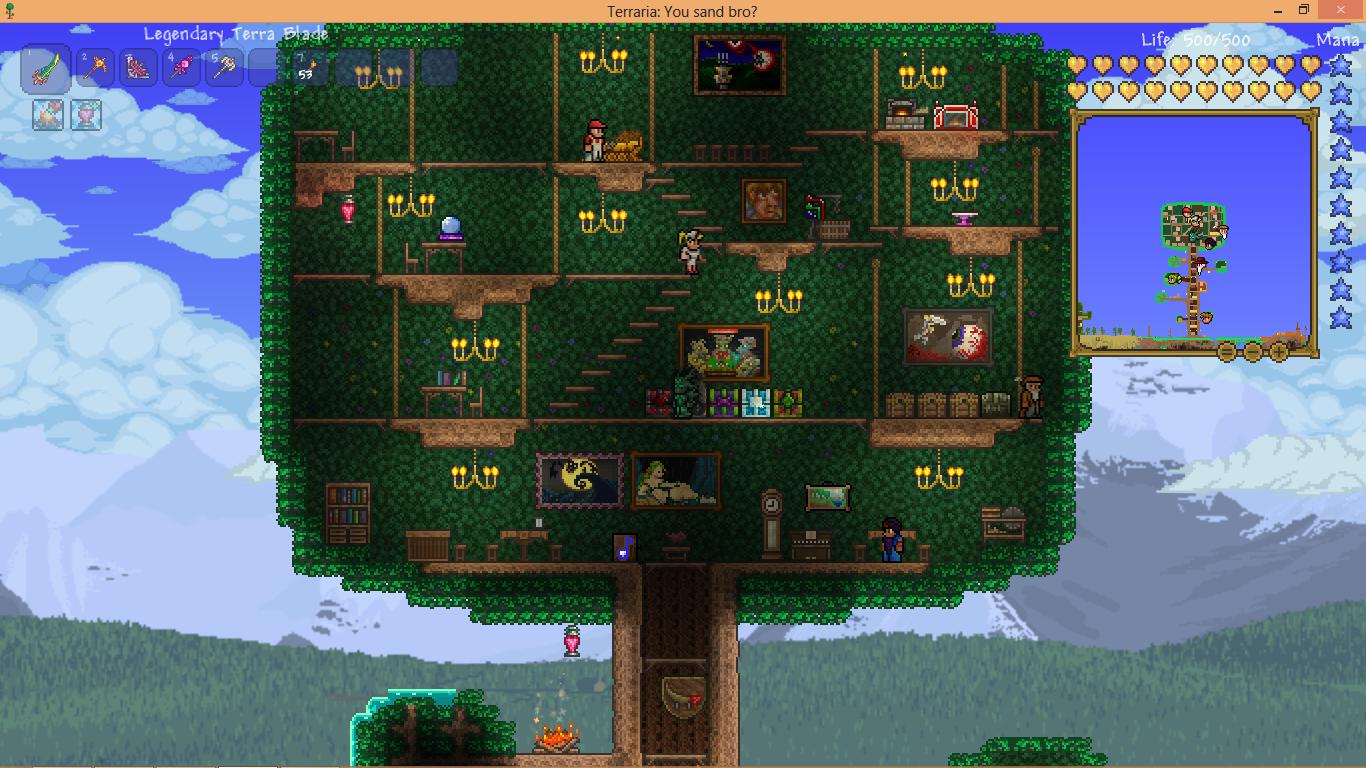 casas wiki terraria