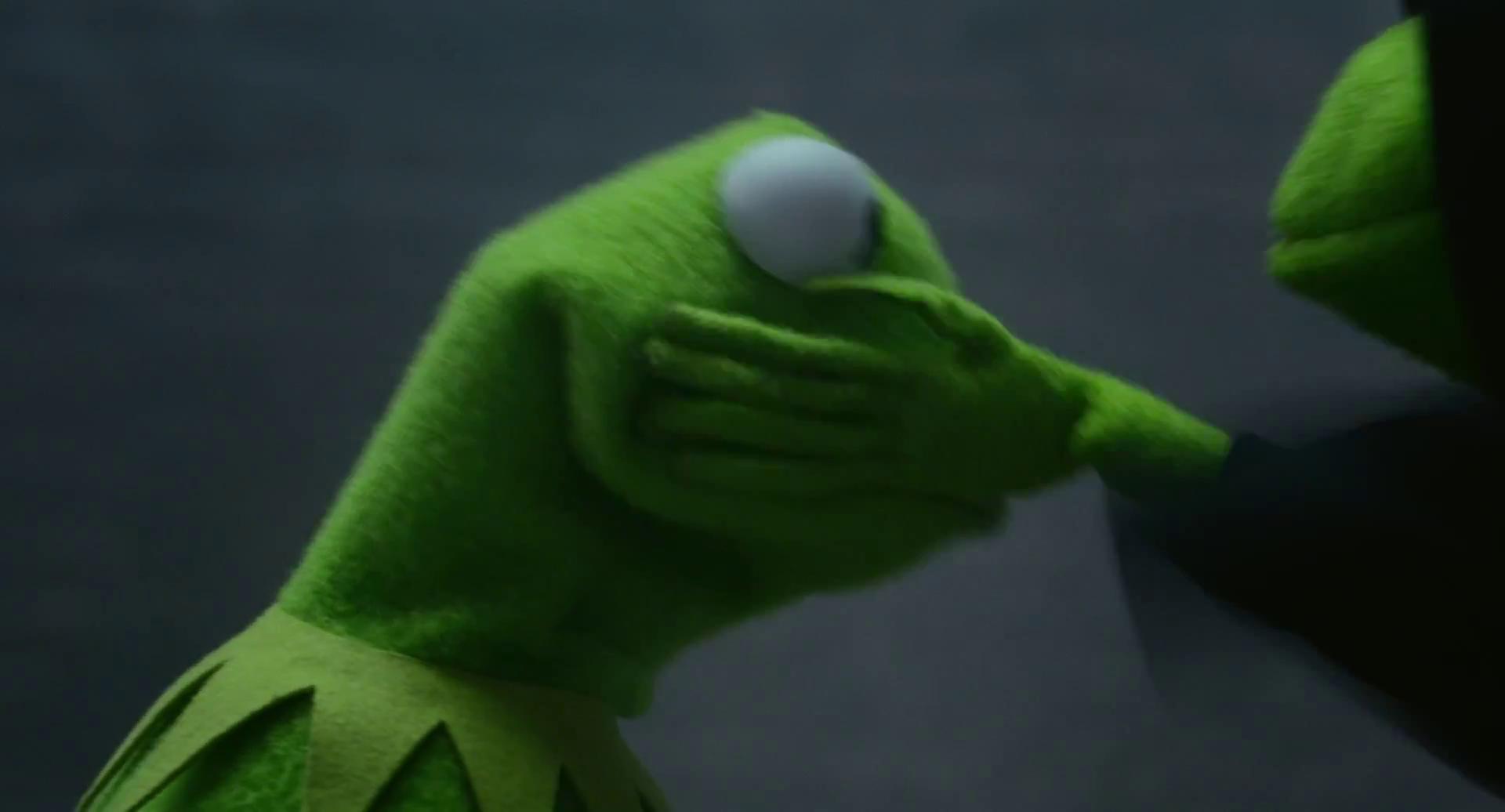 kermit the frog driving meme