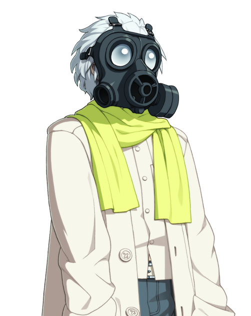What type of gas mask does Clear wear? - Cosplay.com