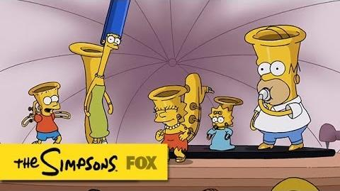 """""""MusicVille"""" Couch Gag THE SIMPSONS ANIMATION on FOX"""