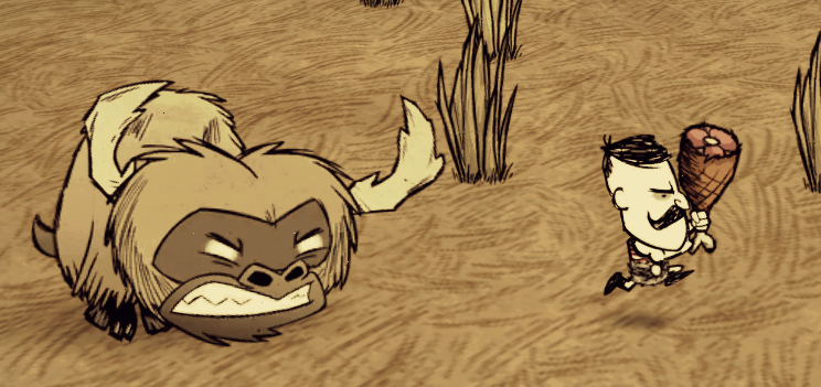 Image angry beefalo png don t starve game wiki wikia