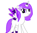 Violet flash galaxy
