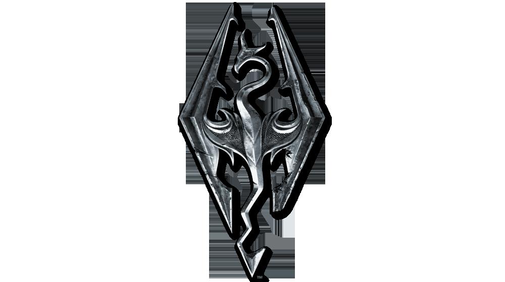 Image - Elder scrolls v skyrim logo by imperial96-d60nvqv ...