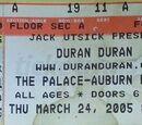 2005 - 24 March: Auburn Hills, MI (USA)